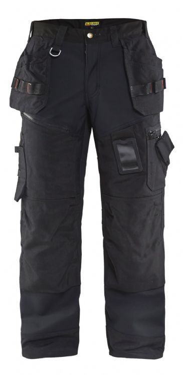 Blaklader 1500 2517 Softshell Craftsman Trousers X1500 (Black)